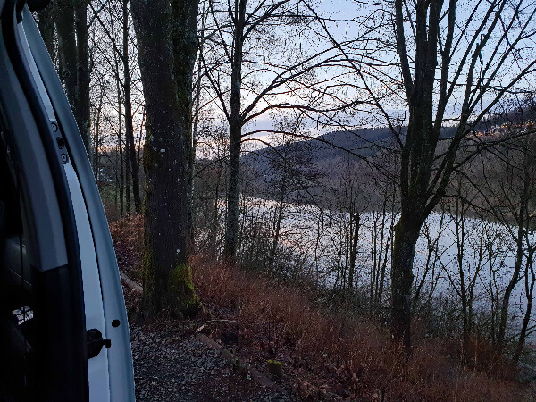Kronenburgen-See und achtsame Kommnikation mit Fluggedanken-Coaching