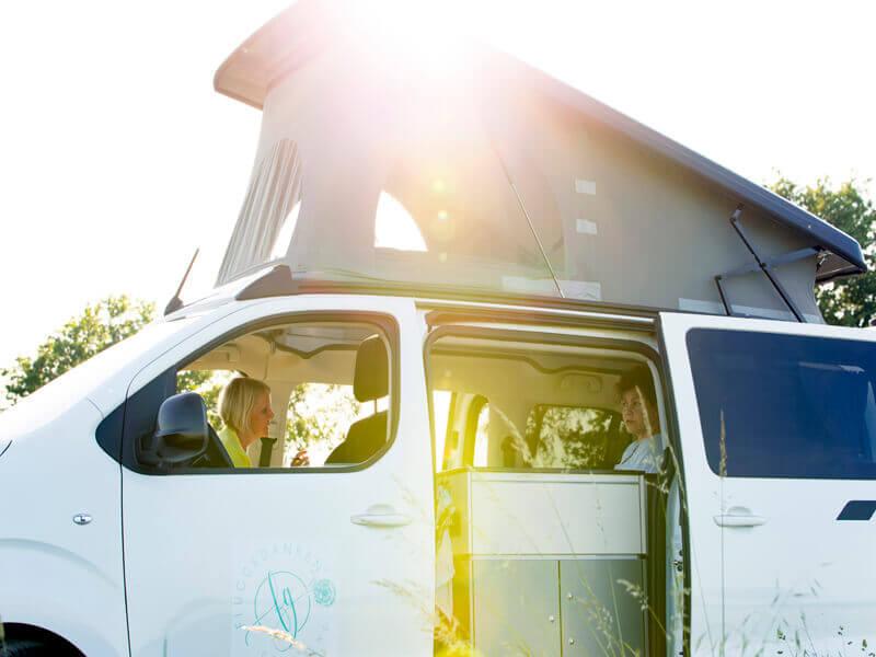 Das Gefühl von Selbstwirksamkeit und Freiheit erfahren im Coaching-Van