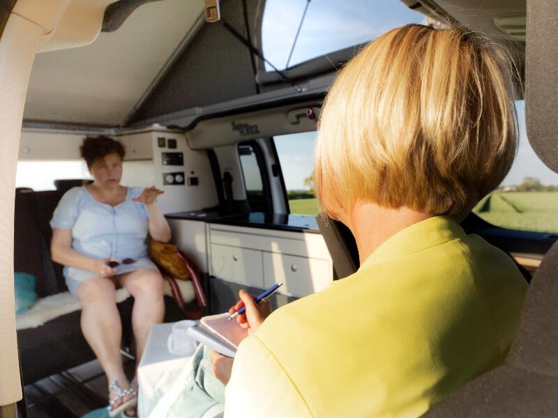 Selbstbewusstsein stärken durch Lifecoaching im Coaching-Van